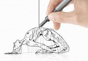 stylo 3d dessin
